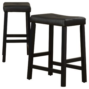 Lottie 24 Bar Stools With Cushion Set