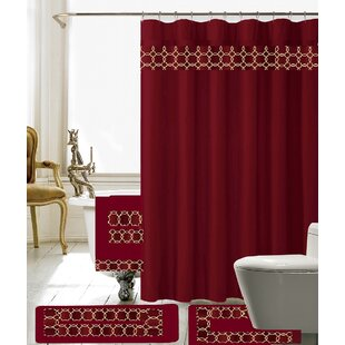 Red And Gold Shower Curtain. Save to Idea Board Yellow  Gold Shower Curtains You ll Love Wayfair