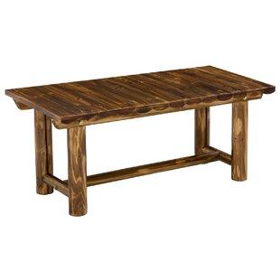 Charmant Toasted Log Coffee Table