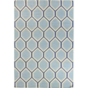 Rockport Light Blue Area Rug