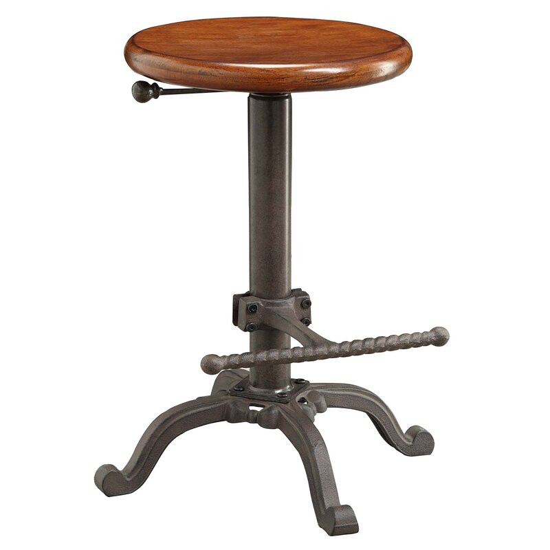 Awe Inspiring Adjustable Height Swivel Bar Stool Alphanode Cool Chair Designs And Ideas Alphanodeonline