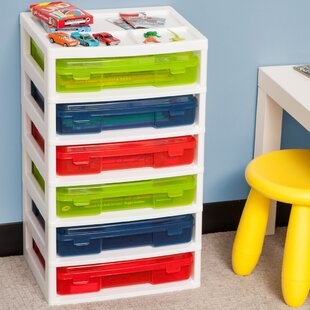 Superieur 6 Drawer Plastic Storage Chest (Set Of 6)