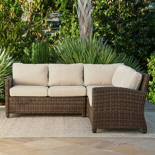 Marvelous Kiana Patio Sectional With Cushions