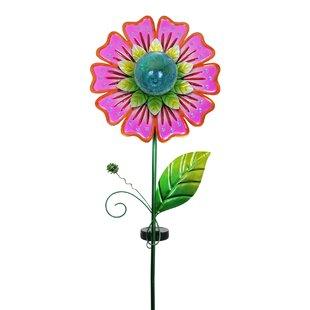 Solar Flower Garden Stake