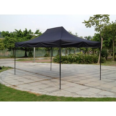 10 Ft. W x 15 Ft. D Steel Pop-Up Canopy  sc 1 st  Wayfair & SunTime Outdoor Living Polenza 8 Ft. W x 8 Ft. D Steel Permanent ...