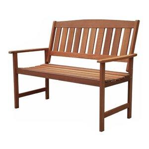 2-Sitzer Gartenbank Stanley aus Massivholz von All Home