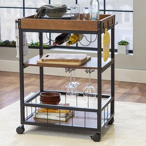 Winchester Kitchen Cart by Mercury Row