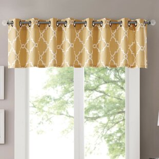 Geometric Valances Kitchen Curtains Youll Love