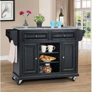 Kitchen Island with Granite Top by Wildon Home ?