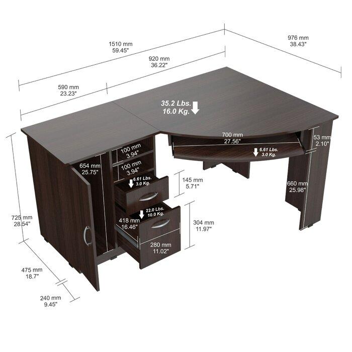 Latitude Run Durango Executive Desk Reviews
