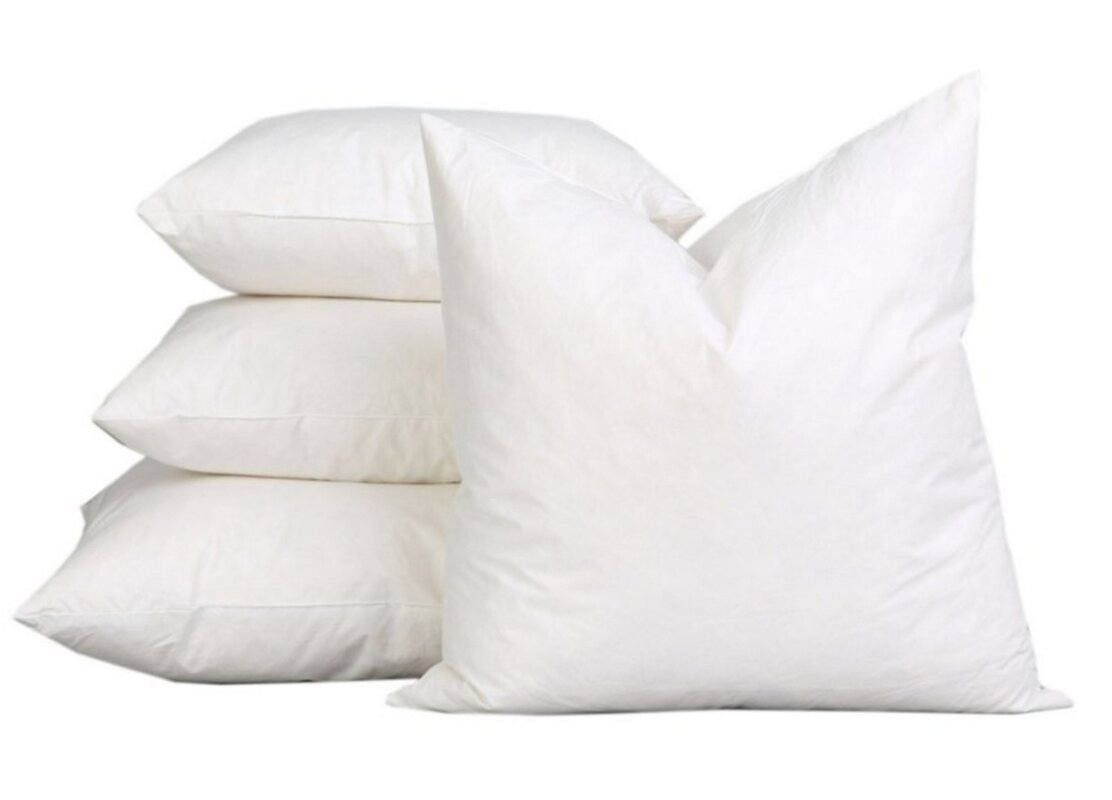 a1 home collections llc sterilized extra fluff and durable 100 cotton pillow insert reviews. Black Bedroom Furniture Sets. Home Design Ideas