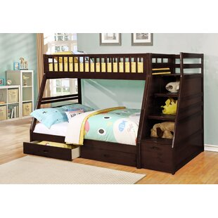 kids bunk bed novelty pierre twin over full bunk bed with drawers kids loft beds birch lane