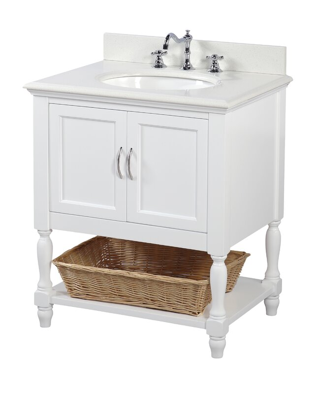 Beverly 30  Single Bathroom Vanity Set KBC Reviews Wayfair