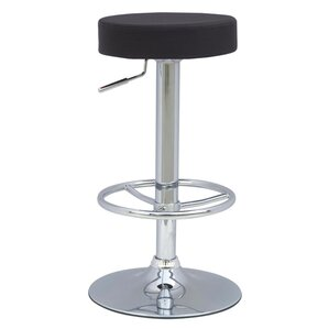 Ex Adjustable Height Swivel Bar Stool by Fine Mod Imports