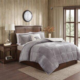 Plush White Comforter | Wayfair