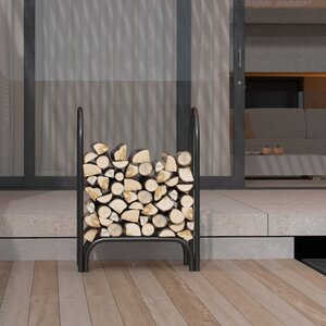 Indoor/Outdoor Firewood Shelter Log Rack
