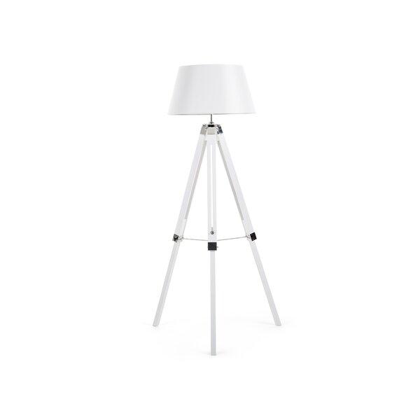 all home 143 cm tripod stehlampe martin bewertungen. Black Bedroom Furniture Sets. Home Design Ideas