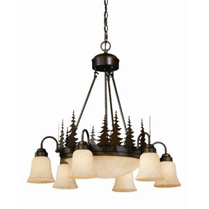 Jennings 9-Light Shaded Chandelier
