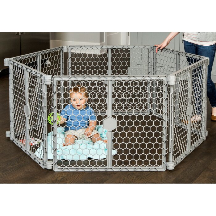 Regalo Regalo Plastic Play Yard Safety Gate Reviews Wayfair Ca