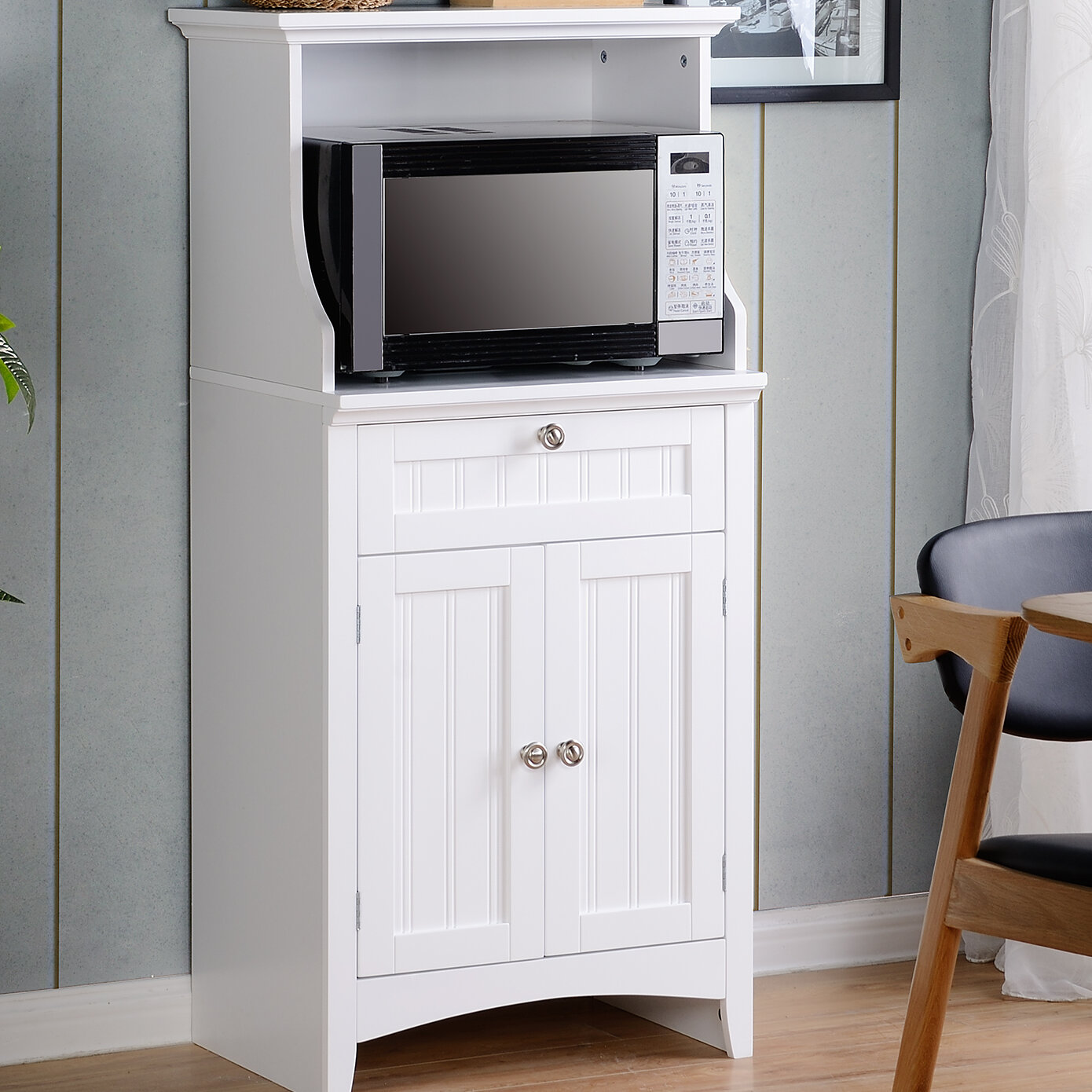OS Home & Office Furniture Microwave/Coffee Maker Kitchen Island ...