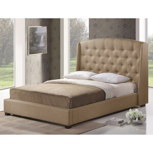 Baxton Studio Upholstered Platform Bed by Wholesale Interiors
