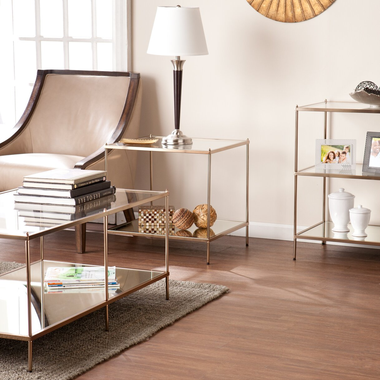 Willa arlo interiors janelle end table reviews - Willa arlo interiors keeley bar cart ...
