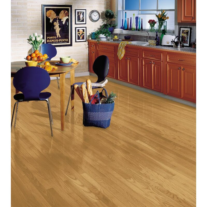 Bruce Flooring Manchester 225 Solid Red Oak Hardwood Flooring In