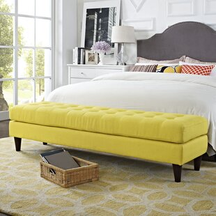 Quickview & Stainless Steel \u0026 Yellow Bedroom Benches You\u0027ll Love | Wayfair