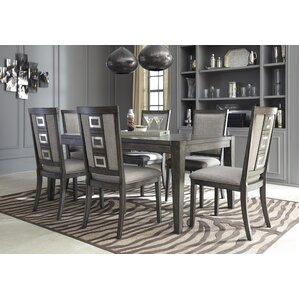 Barr Extendable Dining Table by World Menagerie