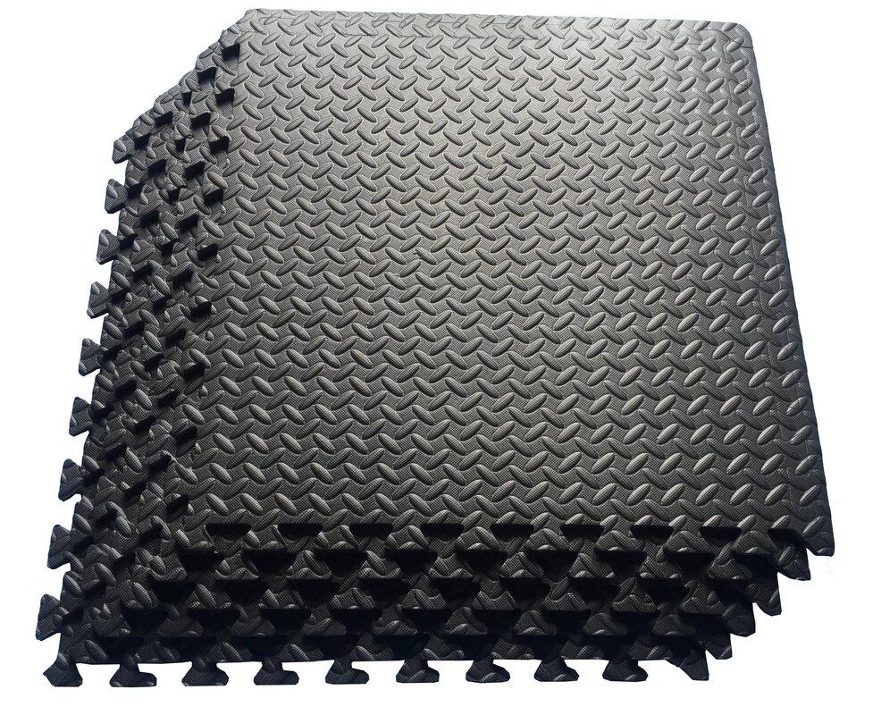 Ottomanson Multipurpose Anti Fatigue Eva Foam Puzzle Floor