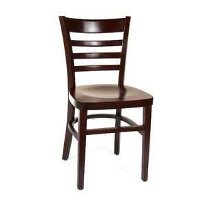 Ladderback Solid Wood Dining Chair (Set of 2) by Benkel Seating