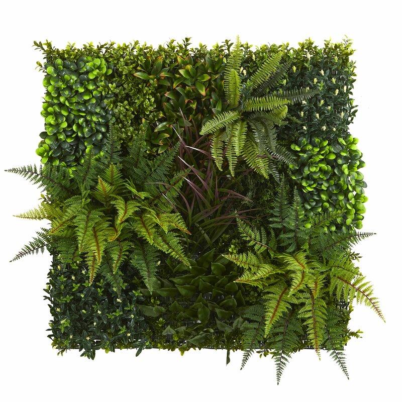 Artificial Living Wall Succulent Plant