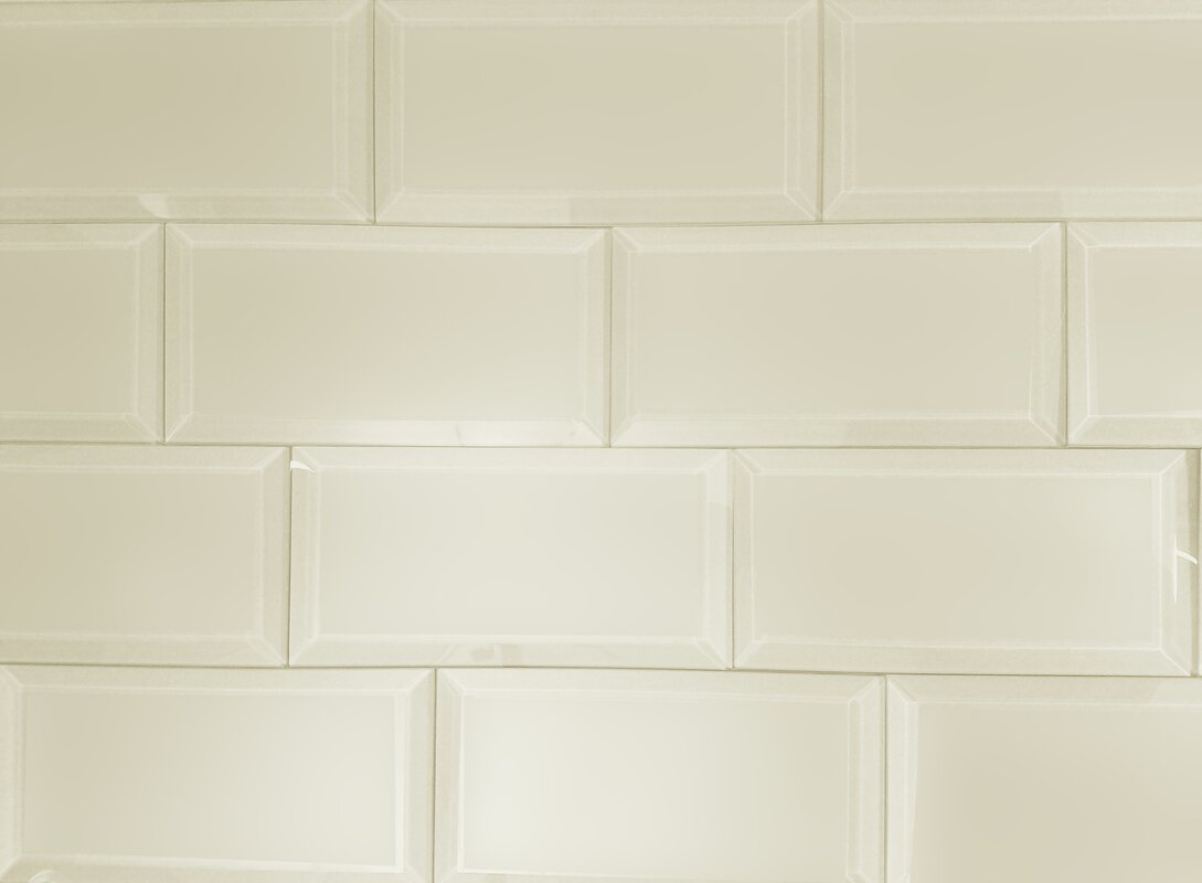 Abolos frosted elegance 3x 6 glass subway tile in matte cream frosted elegance 3x 6 glass subway tile in matte cream dailygadgetfo Images