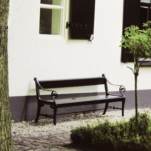 Gartenbank Zeus aus Aluminium von Home Loft Conc..