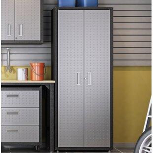 Fortress 74 H X 30 W 18 D Garage Storage Cabinet