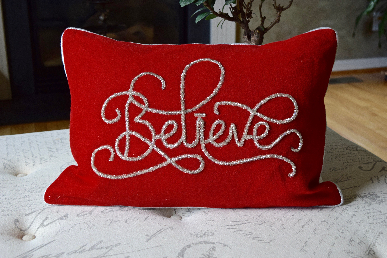 The Holiday Aisle Hera Nothing Like Christmas Lumbar Pillow | Wayfair
