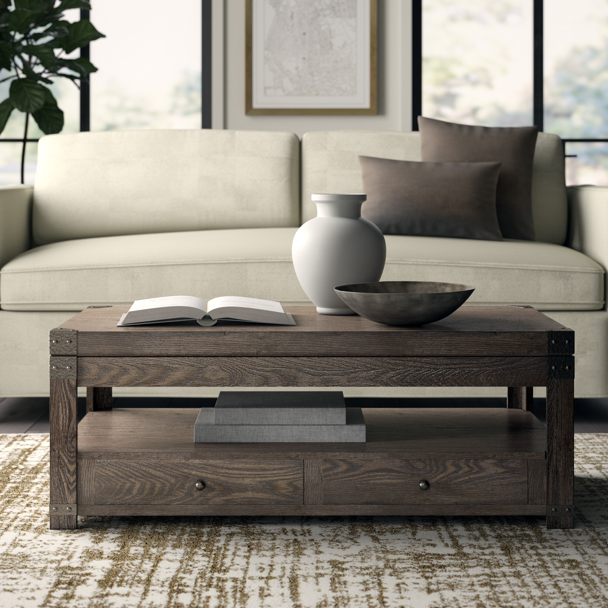 Lift Coffee Table.Quedgeley Lift Top Coffee Table