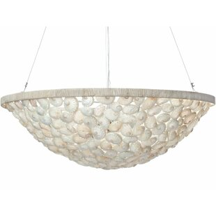 Marvelous Abalone 3 Light Bowl Pendant