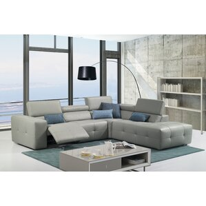 Chase Reclining Sectional by Orren Ellis