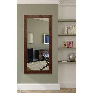 Leaning & Floor Walnut Mirrors You\'ll Love | Wayfair