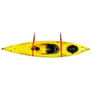 SlingOneu2122 Single Kayak Storage System Ceiling/Wall Mounted Kayak Rack