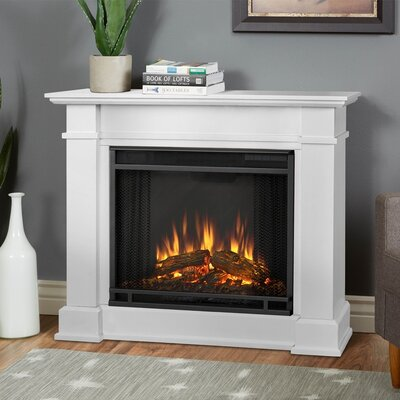 devin petite electric fireplace - Electric Fireplace With Mantel