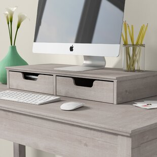 Monitor Stand Paper Tray Desktop Organization You Ll Love Wayfair