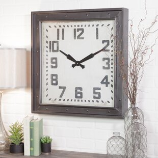 Westford Square Wall Clock