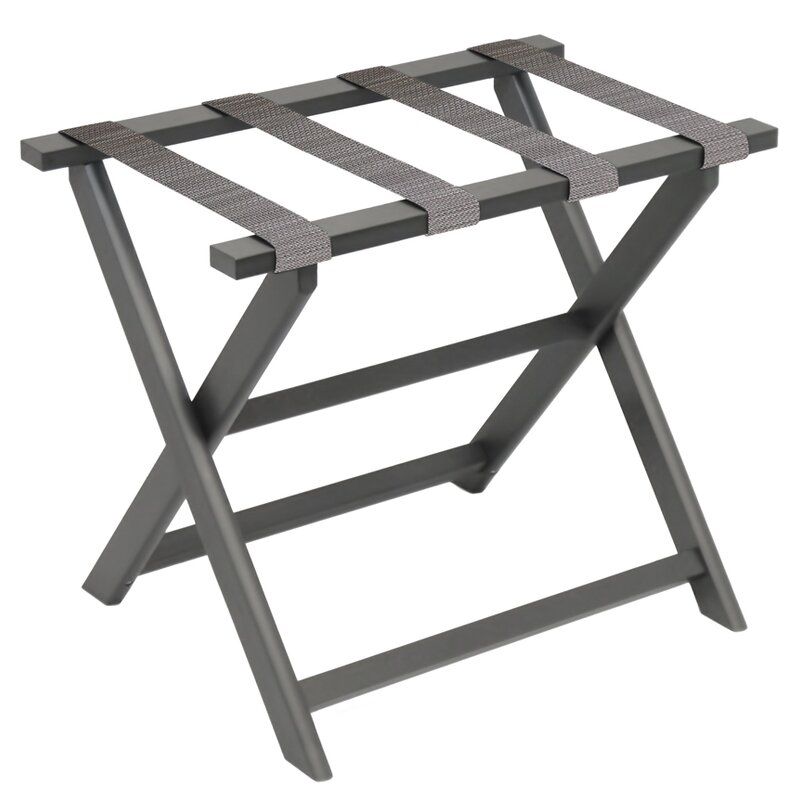Gate House Furniture Recycled Plastic Eco Luggage Rack Reviews Wayfair