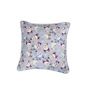 Snowman Holiday Pillow Protector by Affluence Home Fashions