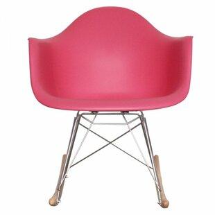 Kids Pink Rocking Chair   Wayfair