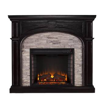 Darby Home Co Camilla Simulated Electric Fireplace & Reviews