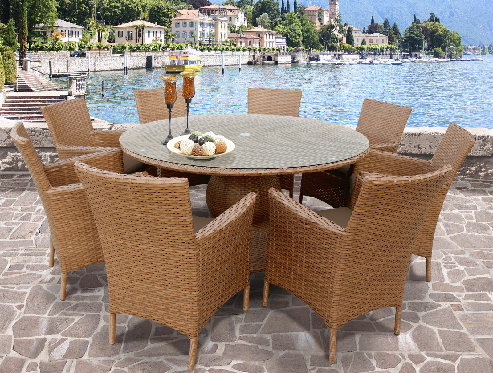 Rosecliff heights east village patio dining set reviews wayfair
