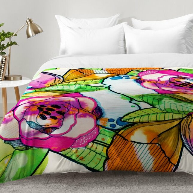 Captivating Fantasy Garden Comforter Set